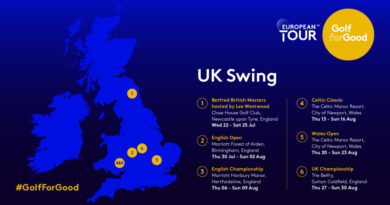 The European Tour Return Schedule, Golf Clubs For Sale Wanted UK